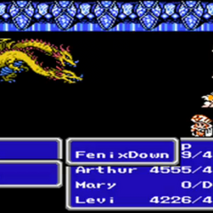 As it appears in the NES version.