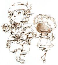 Puppeteer FFXI Ikeda Art