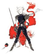 Amano Cloud & Red XIII