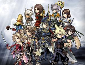 DFFOO Characters