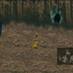 The HP<->MP cave is accessible by a black chocobo.