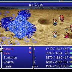 Ice Crush.