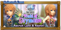 FFRK World of Grymoire Event