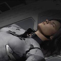 Aki in a coma.