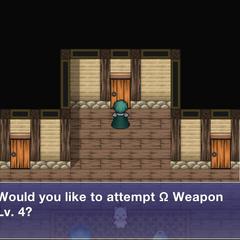 Ω Weapon's Door.
