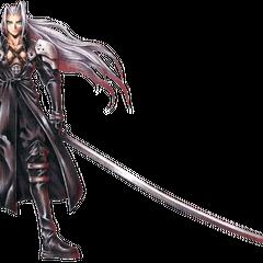 Sephiroth full art finished.