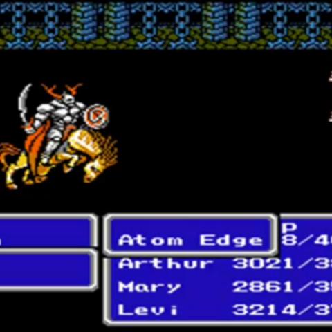 Atom Edge (NES).