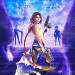 Promotional artwork of Yuna at the