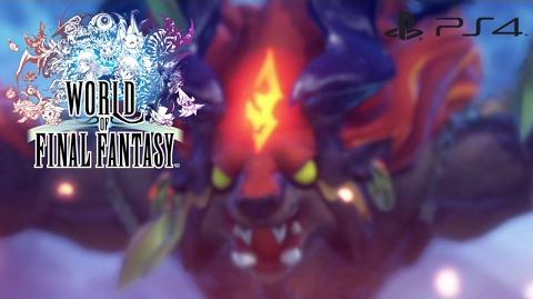 【WOFF】 ワールド オブ ファイナルファンタジー - 地獄の火炎 (イフリートの必殺技) World of Final Fantasy - Hellfire
