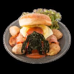 Big hamburger of Titan