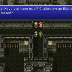 Rydia criticizing Edge's recklessness