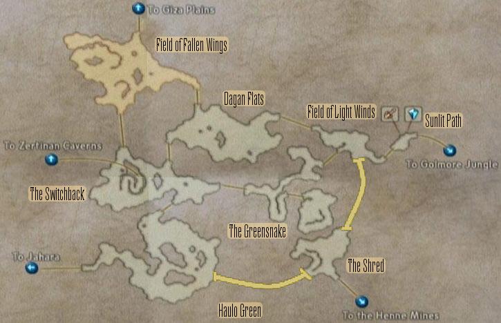 FF12 Map - Ozmone Plain