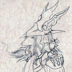 Freya Crescent Sketch.