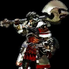 Warrior in <i>Final Fantasy XIV: A Realm Reborn</i>.