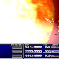 Fire3 used against all enemies in <i><a href=