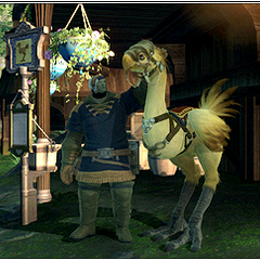 Chocobo stables in Gridania (Legacy).