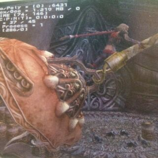 Yuna in early <i>Final Fantasy XIII</i> development.