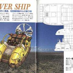 Schematics of the Hovercraft.