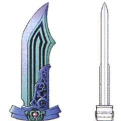 Concept artwork for the Mythril Dagger.