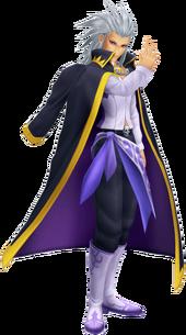 Изображение Сетцера в игре Kingdom Hearts II.