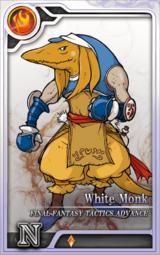 FFTA White Monk Artniks