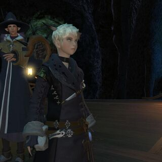 E-Sumi-Yan at the Conjurer's Guild in <i>A Realm Reborn</i>.