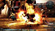 FF Type-0 - Eight Exploding Fist