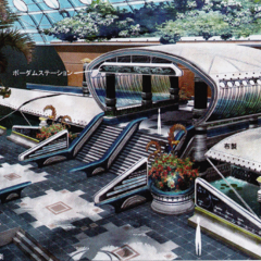Bodhum Station artwork.