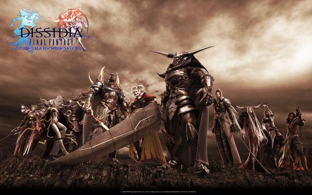 File:Dissidia Final Fantasy - CG artwork of Warriors of Chaos.jpg