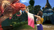 FFX HD Yuna and Valefor