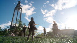 Final Fantasy XV Party in Caem