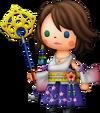 Yuna dans Theatrhythm Final Fantasy