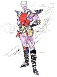 Arte de Cid por Yoshitaka Amano.