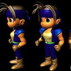 Locke's character model.