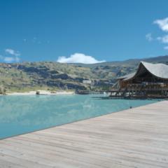 Galdin Quay resort in Leide coast.