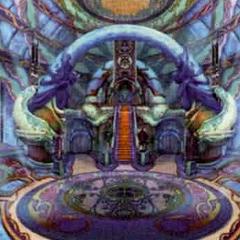 Temple artwork.