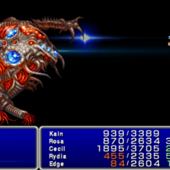 Dry Ether in-game (PSP).