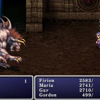 Behemoth in the PSP remake.