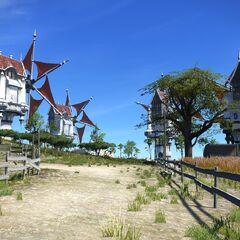 Windmills in La Noscea.