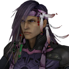 Caius's in-game close-up render.