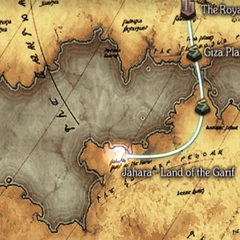 Jahara on the world map.