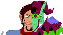 Hector Jones = Green Goblin by Niv Lugassi
