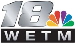 Wetm-TV 18 logo