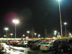 Waterloo Premium Outlet Mall Parking Lot