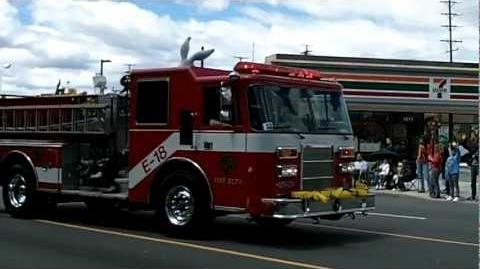 Warner Brothers FD (CA) Engine 18