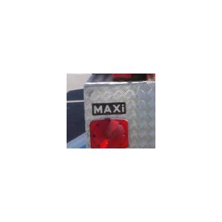 1st generation Maxi Métal's plate