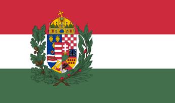 Hungary Naval Ensign 1939-1945