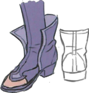 Nowi boot sketch