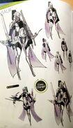 TMS concept art of Virion as a Sniper class