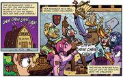 1433069 safe artist-colon-brendahickey rockhoof spoiler-colon-comic spoiler-colon-comiclom2 fire emblem idw lucina ponified pony